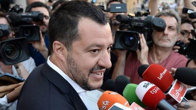 Il vicepremier Matteo Salvini è intervenuto ancora nel caso degli affidi illeciti