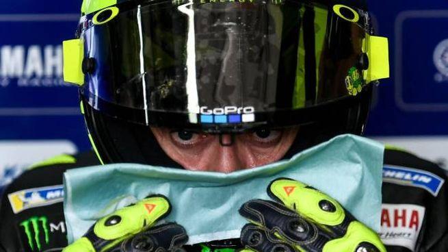 MotoGp, Valentino Rossi (foto Ansa)