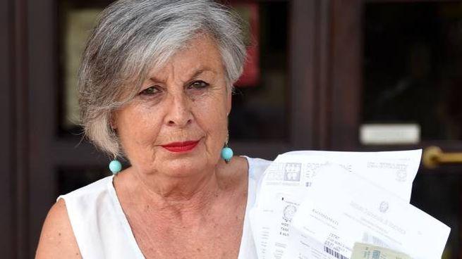 Graziella Canzi, 70 anni, bancaria in pensione (foto Migliorini)