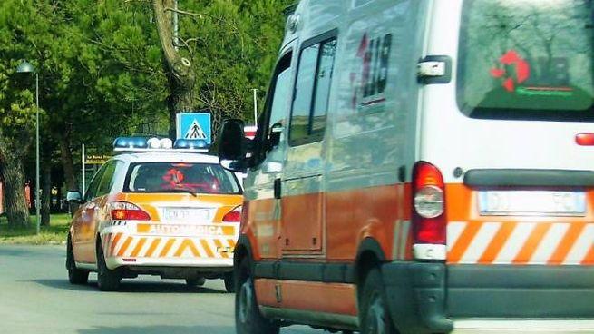 Modena, incidente in via Emilia Ovest: grave un motociclista (foto d'archivio)