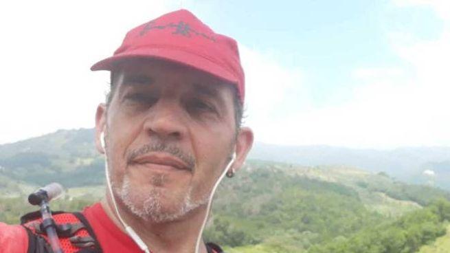 Massimo Frugoli, il podista colpito dal fulmine