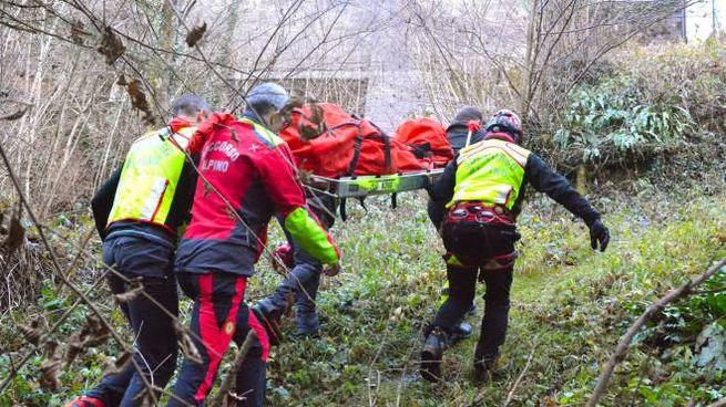 Un intervento di soccorso alpino (foto di repertorio)