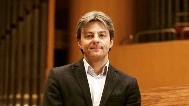 L'organista  Thierry Mechler