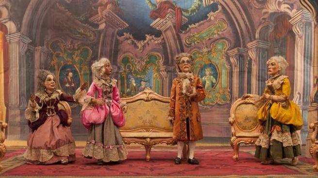 Le marionette dell'Italiana il Algeri