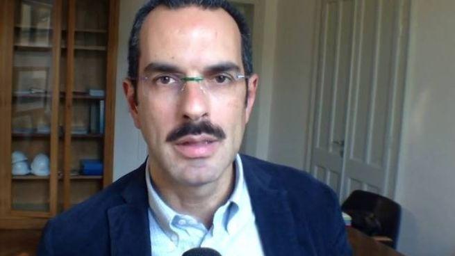 Uno scatto che ritrae il consulente nominato dalla Procura di Ferrara, Carlo Pellegrino
