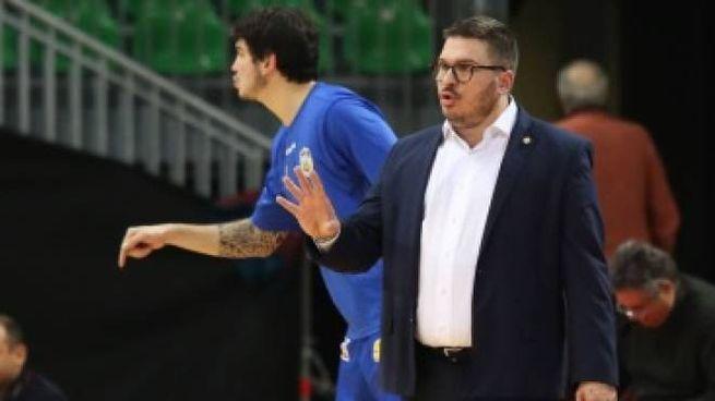 L'allenatore Andreazza