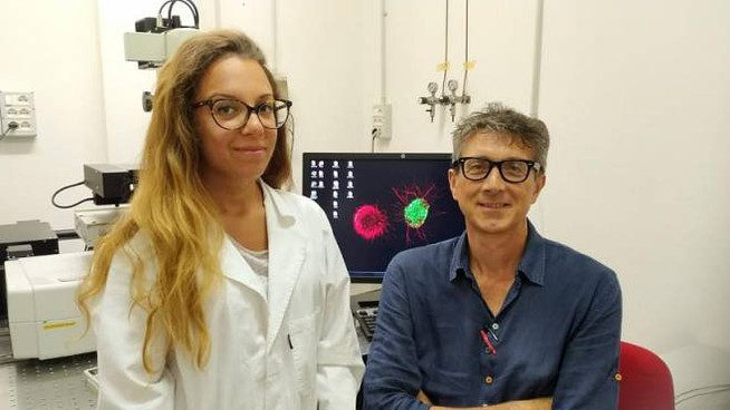 Serena Nazzi e Massimo Pasqualetti