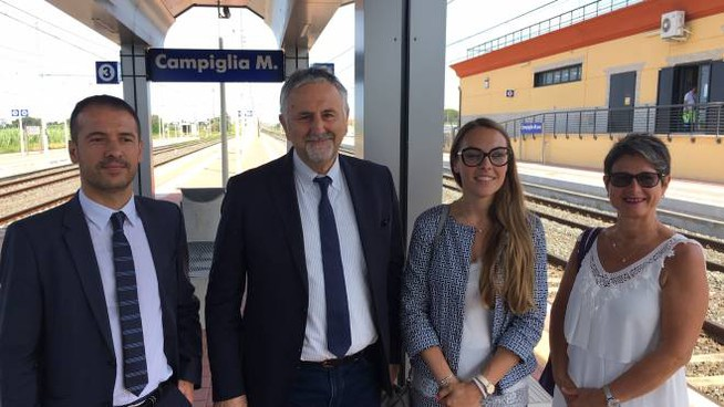 Efisio Murgia, Vincenzo Ceccarelli, Alberta Ticciati ed Elena Fossi