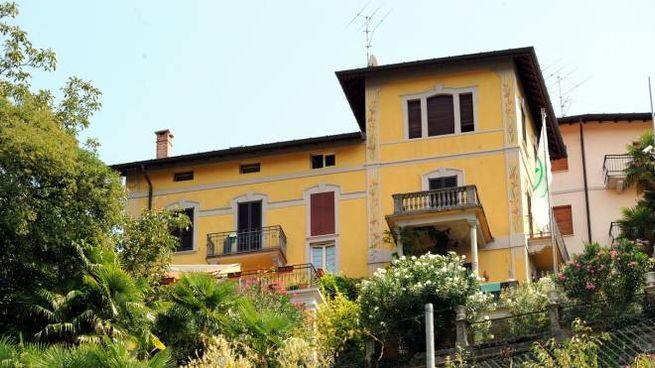 La villa di Umberto Bossi a Gemonio (Newpress)