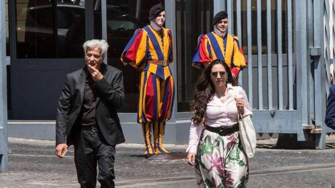 Pietro Orlandi e l'avvocato Laura Sgrò (LaPresse)