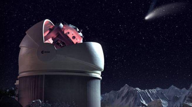 """Il telescopio che dà la caccia agli asteroidi è """"made in Como"""""""