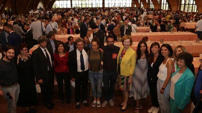 La presidente del Senato Casellati in visita a San Patrignano con il Premio Campiello