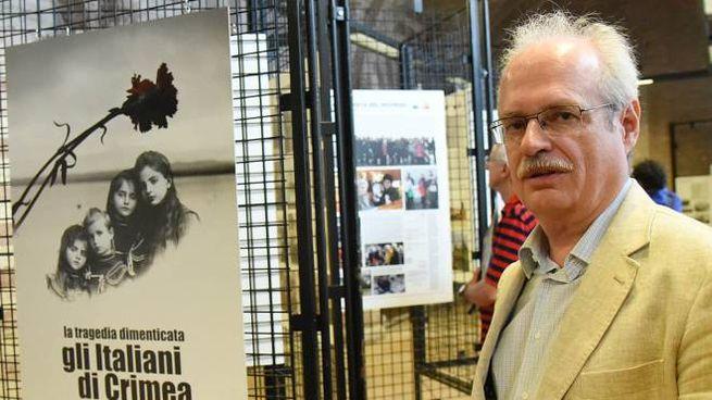 Stefano Mensurati, giornalista Rai, curatore della mostra