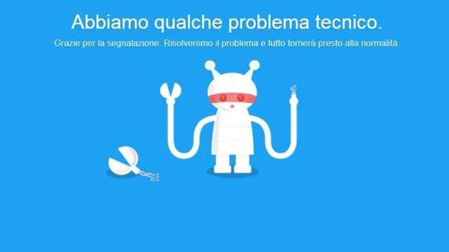 Problemi tecnici per Twitter. Non funziona in tutto il mondo