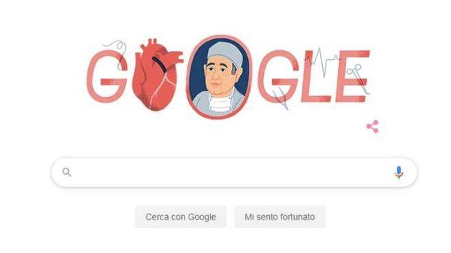 Google celebra Renè Favarolo con un doodle