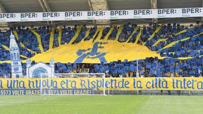 Festa per i tifosi del Modena (foto Fiocchi)