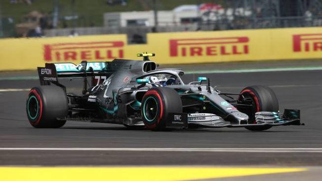 La Mercedes di Bottas (Lapresse)