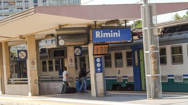 La stazione ferroviaria di Rimini