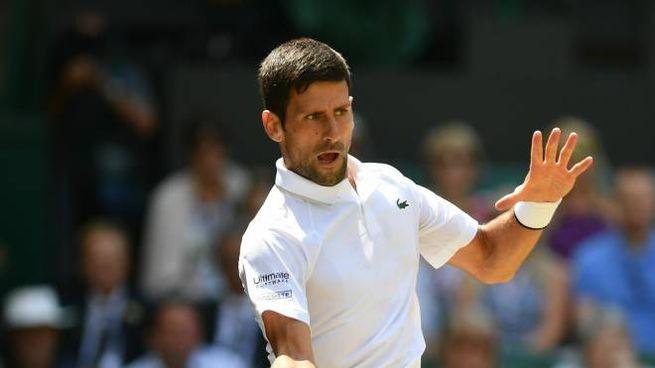 Novak Djokovic primo finalista di Wimbledon 2019