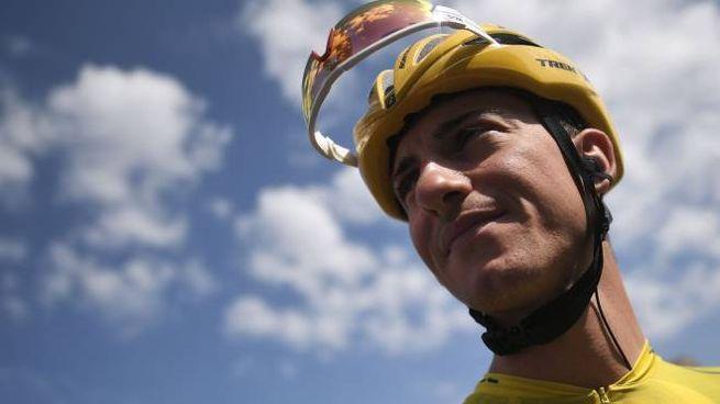 Giulio Ciccone mantiene la maglia gialla (Lapresse)