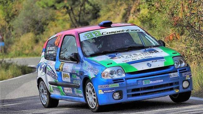 Un'auto della Bb Competition in corsa