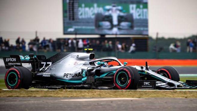Valtteri Bottas scatterà dalla prima posizione nella gara di Silverstone