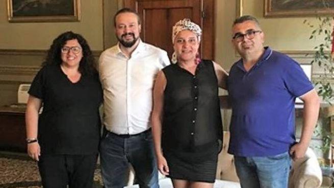L'incontro tra Alan Fabbri e la comunità Arcigay in Comune