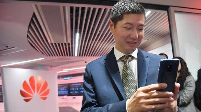 Thomas Miao, ceo di Huawei Italia (Ansa)