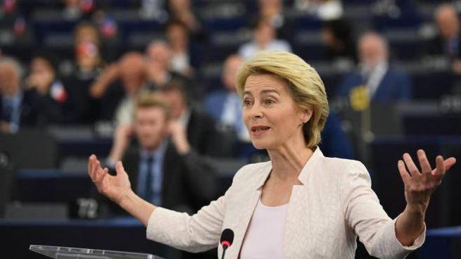 Ursula von der Leyen, presidente designato della Commissione Ue (Ansa)