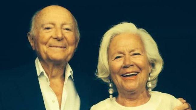Giovanna Capecchi Bonan col marito Aldo