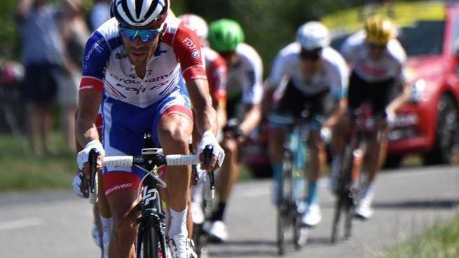 Pinot durante la tappa 10 del Tour de France 2019 (Lapresse)