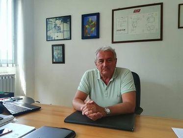 Gabriele Drusiani, presidente della Sta Impianti che ha sede a Crespellano