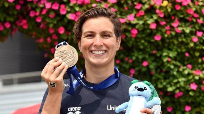 Rachele Bruni, bronzo mondiale nella 10 km