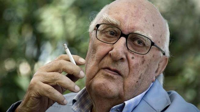 Andrea Camilleri, morto a 93 anni (Ansa)