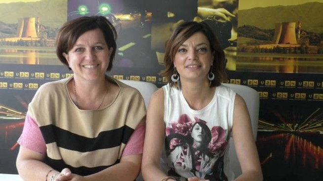 Elisa Bertini e Francesca Neri del Pd di Montevarchi