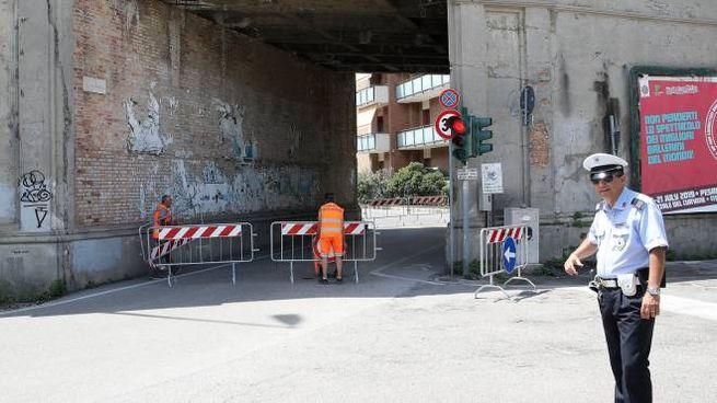 Pesaro, il ponte della Statale 16 (Fotoprint)