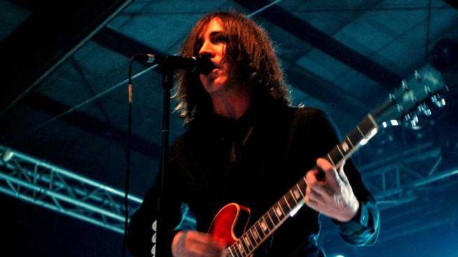 Il leader della band, Manuel Agnelli