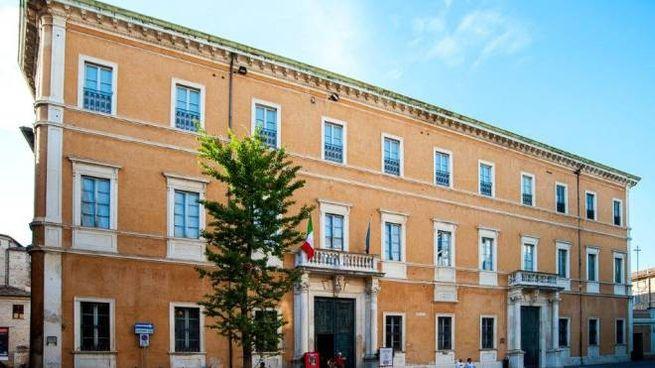 Palazzo Olivieri sede del Conservatorio Rossini