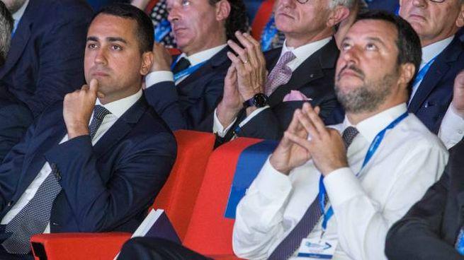 Luigi Di Maio e Matteo Salvini (Imagoeconomica)