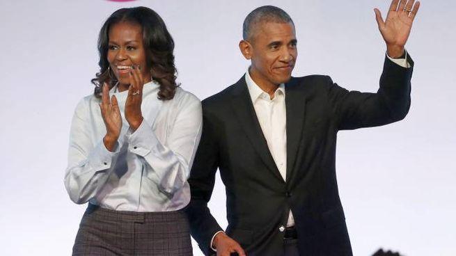 Michelle e Barack Obama (Ansa)