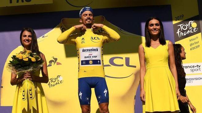 Alaphilippe vince la tredicesima tappa al Tour de France 2019 (LaPresse)