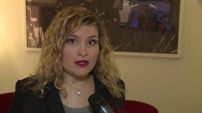 Catia Giorni, capogruppo consiliare del Movimento 5 Stelle a Sansepolcro