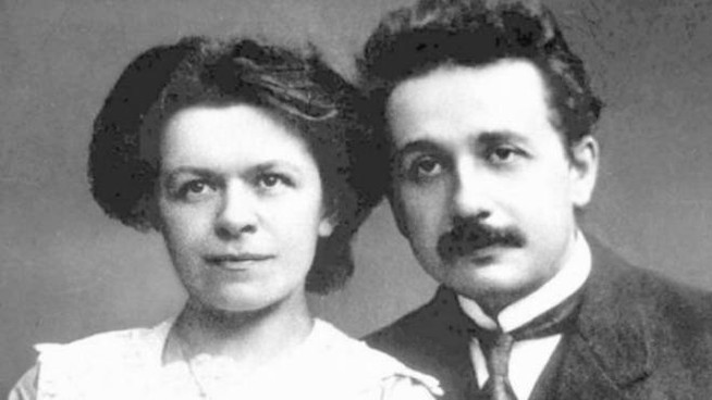 Mileva Maric e Albert Einstein