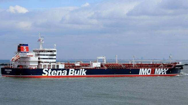 La petroliera britannica sequestrata dall'Iran (Lapresse)