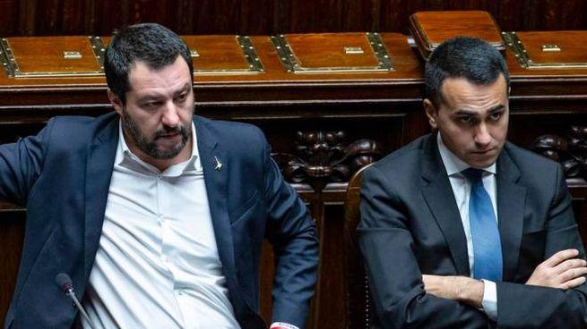 I vicepremier Matteo Salvini e Luigi Di Maio (Imagoeconomica)
