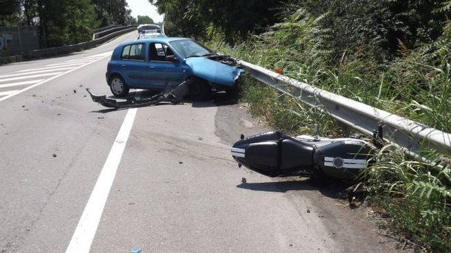 Incidente in tangenziale