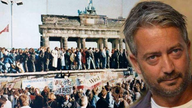 Paolo Ercolani e il Muro di Berlino nel 1989