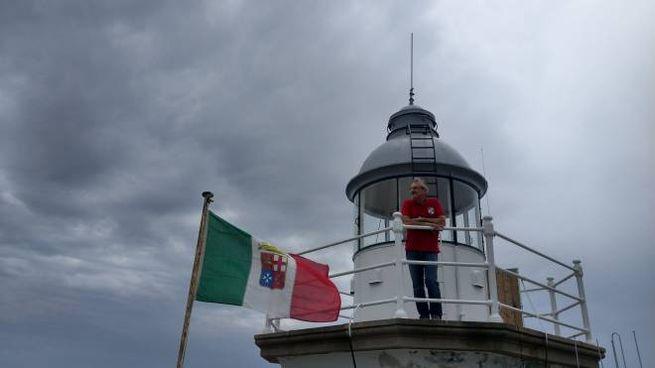 Paolo Bassignani, 59 anni, guardiano del faro di Portofino