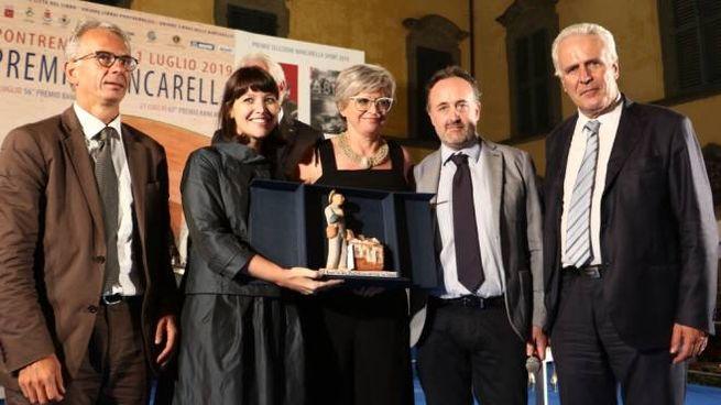 Alessia Gazzola riceve il premio (foto Pasquali)
