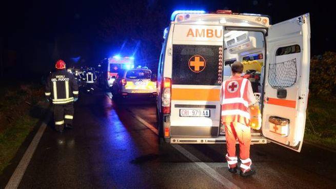L'intervento dell'ambulanza (foto d'archivio)